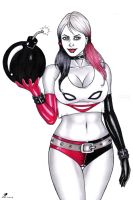Harleyquinn auction in ebay by sidneydesenhus