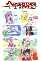 adventure time characters anime style by NENEBUBBLEELOVER