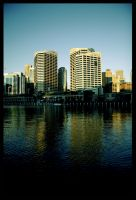 Sydney buildings by alcohobo