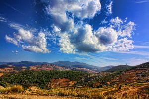Moroccan Sky by abdellusher