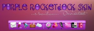 Purple Rocketdock Skin by x-Magnifique-x