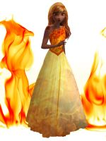 Anna the fire princess by fantasydreamtima