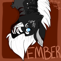 :Upside down Ember: by LadyMidnight-gem
