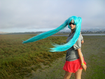 Summer Breeze-- Hatsune Miku Cosplay by xxx-TeddyBear-xxx