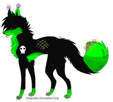 Scene Dog Adoptable-closed- by ghoststar321