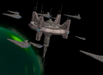 Imperial Fleet Mobilising by Cyrannian