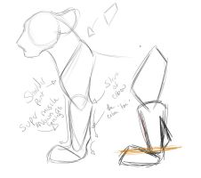 Quick paw tutorial thing by WingsandFeathers