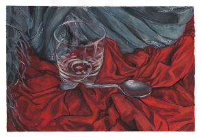 Small red still life by MargoMeiko