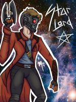 Starlord- Guardian of the Galaxy by sophisticatedghost
