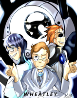 We are wheatley~ by Cheapcookie