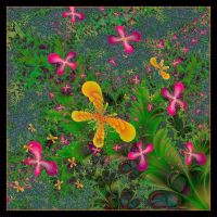 Butterfly Garden for Titia by LaxmiJayaraj