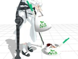 MMD - Shopping Bag with Physics by narutoxbase