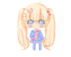 (*New* Style of Drawing ) Hello-Chibi by Tokyo-Dollie