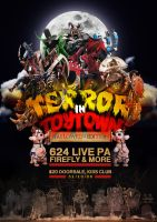 Terror in toytown halloween by Kivex