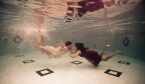 underwater wedding by anupjkat