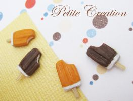 ice cream popsicle earrings1 by PetiteCreation