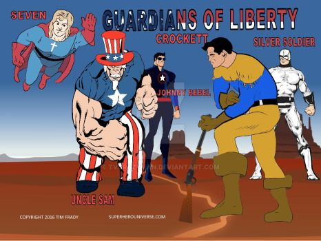 Guardians of Liberty by tvcrazyman