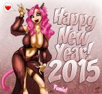 Fumie's 2015 New Year by GraphicBrat