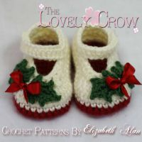 Crochet Pattern Baby Holly Shoes 2 by thelovelycrow