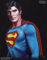 SUPERMAN - Christopher Reeve by The-Art-of-Ravenwolf