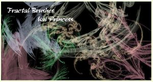 Fractal Brushes New Set by KaiPrincess