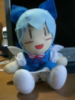 Touhou: Cirno the Ice Fairy by Kyuubiness