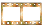 DoubleFlimstrip frame - small by Bizee1