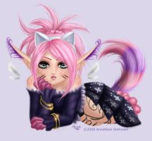 Gaiaonline -Cheshire Catterfly by Calico-Tiger