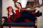Grell and Sebastian (Doll) by EnchantedCupcake