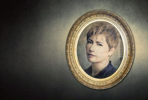 GACKT - Portrait in the frame 2 by Kot1ka