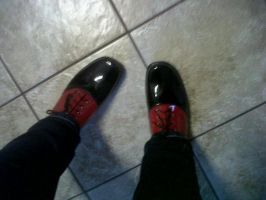 Grell Shoes by CrystalizedBlood