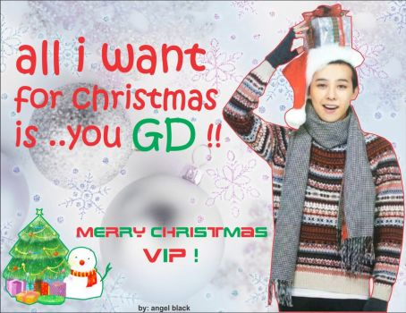 all i want for christmas is GD by 417991117