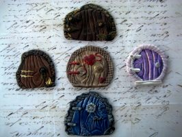 Polymer Clay Fairy Portals V1 by RoyalKitness