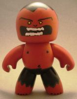 RED HULK Mighty Muggs by TomCampbell