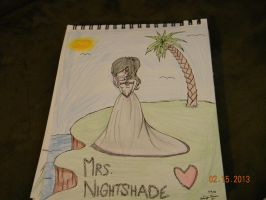 Mrs. Nightshade [In her Dreams...] - The ReaDe by MysteriousKitsune