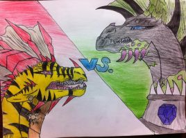 Firelily vs Talon by queenfirelily17