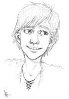 FANART - Hiccup sketch HTTYD by oomizuao