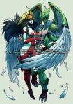 Collab with DAIMON ART PRODUCTION - Burst x Avian by Afterlaughs