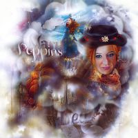 Mary Poppins/Caren Gillan by ItsSweetHeart