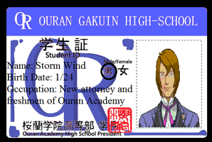 Storm's Ouran ID by stormthehedgehog1