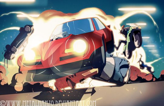 Road Avenger by HeavyMetalHanzo