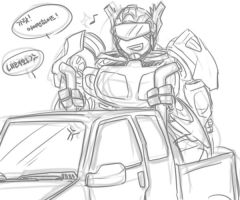 Jazz on the ironhide... by bitecat