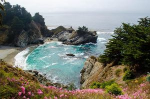 Julia Pfeiffer State Park by roarbinson