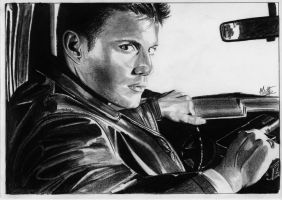 Dean Winchester by alainmi