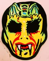 Barnabas Collins Vintage Halloween Mask by Insert-Name-YouIdiot
