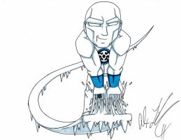 Blue Lantern Iceman by toonartist