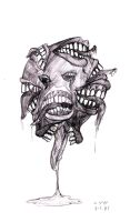 Floating Mouths by Nick-is-Safferion