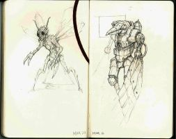 Sketches from March 2012 01 by shinypants