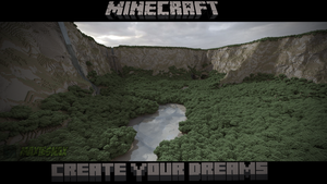 Minecraft Canyon by maxiesnax