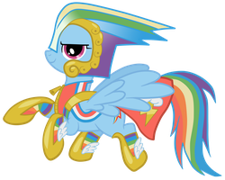 Great And Powerful Dashie by JennieOo